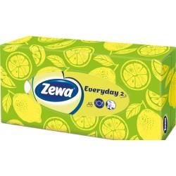 Кърпи за лице Zewa Everyday кутия 100 бр. 2пластови