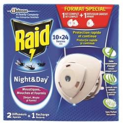 Изпарител против насекоми Райд 2бр ден и нощ