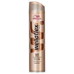 Лак за коса Wellaflex Ultra Strong за блясък 250ml