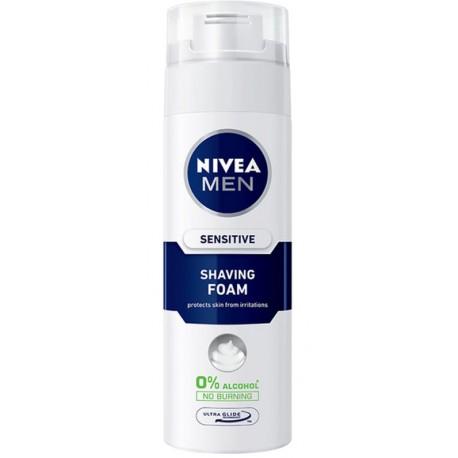 Пяна Nivea Sensitive Men 200ml за бръснене