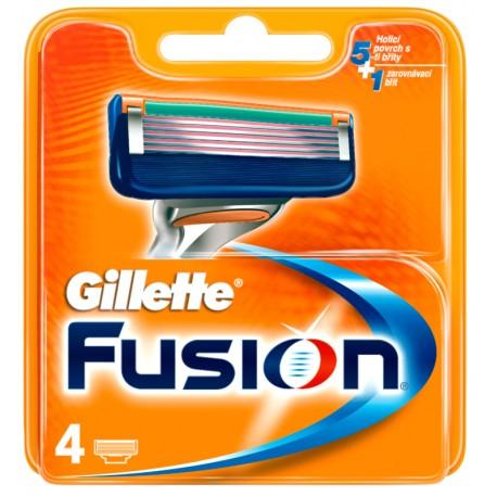 Ножчета за бръснене Gillette Fusion опаковка 4бр.
