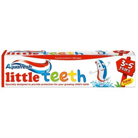 Детска паста за зъби Aquafresh Little teeth (3-5г.) 50ml