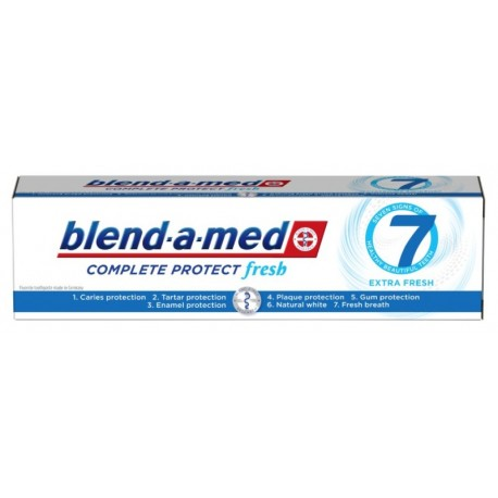 Паста за зъби Blend-a-med Complete 7 Extra fresh100ml
