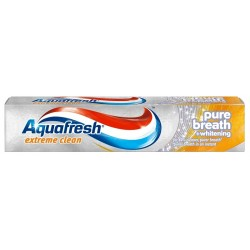 Паста за зъби AQUAFRESH Extreme Clean Pure Breath&Whitening 75ml