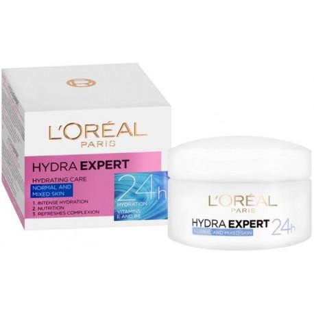 ДНЕВЕН КРЕМ L'OREAL HYDRA EXPERT Нормална и смесена кожа 50ml