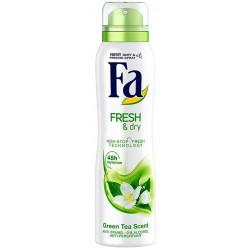 Дезодорант спрей FA Fresh & Dry Green Tea 150ml
