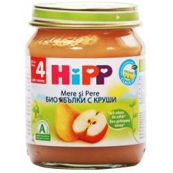 HIPP Био пюрe Ябълки и круши 125g
