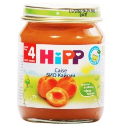 HIPP БИО ПЮРЕ КАЙСИИ 125g