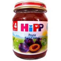 HIPP Био пюре Сливи 125g