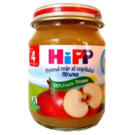 HIPP Био пюре 100% ябълки 125g