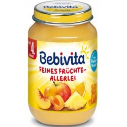 Bebivita пюре Различни плодове 190g
