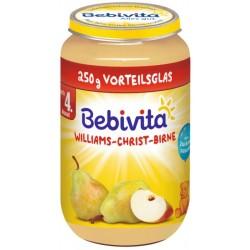 Bebivita пюре Круши Уилямс Крист 250g