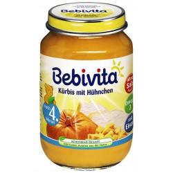 Пюре Bebivita тиква и пилешко 190g