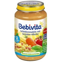 Bebivita Паста с шунка и зеленчуци 220g