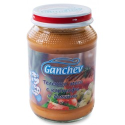 Ганчев телешко картоф домат 0,190