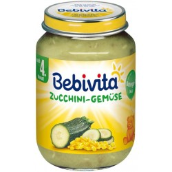 Пюре Bebivita царевица и тиквички 190g