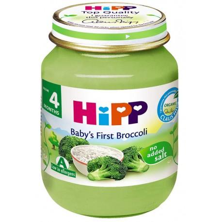 HIPP Био пюре Броколи с ориз 125g