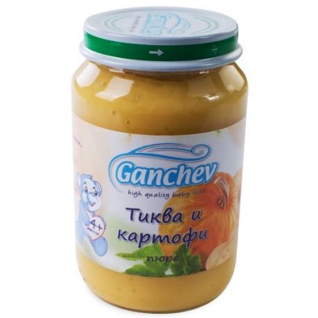 Ганчев пюре тиква и картофи 0,190