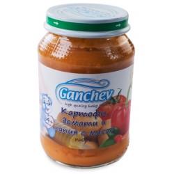 Ганчев пюре Картофи, домати, капия с масло 190g