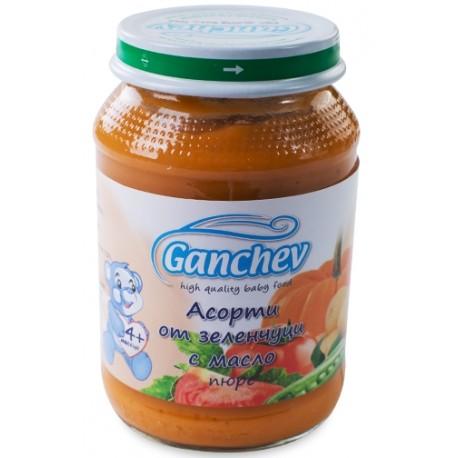 Ганчев асорти зеленчуци с масло 190g
