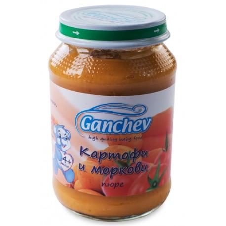 Ганчев пюре картофи моркови 190g