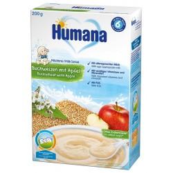 Млечна каша Елда и ябълка Humana 200g