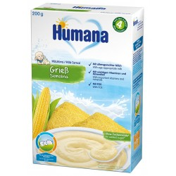 Млечна каша Царевичен грис Humana 200g