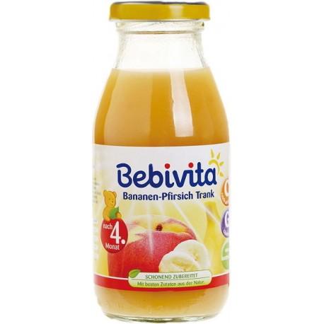 Bebivita сок от банани праскови 0.200
