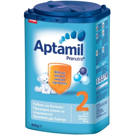 Адаптирано мляко Aptamil 2 800g
