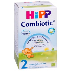 Мляко преходно HIPP 2 Комбиотик 800g