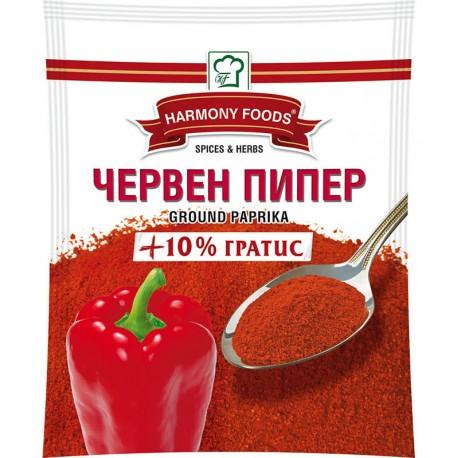 Подправка Червен пипер Сладък млян Harmony Foods 50g