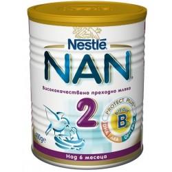 Преходно мляко Nestle NAN 2 400g