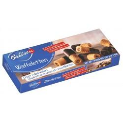 Вафли-пурички тъмен шоколад Bahlsen 100g