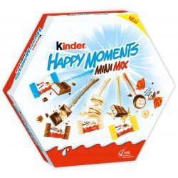 KINDER Мини микс Щастливи моменти 162g