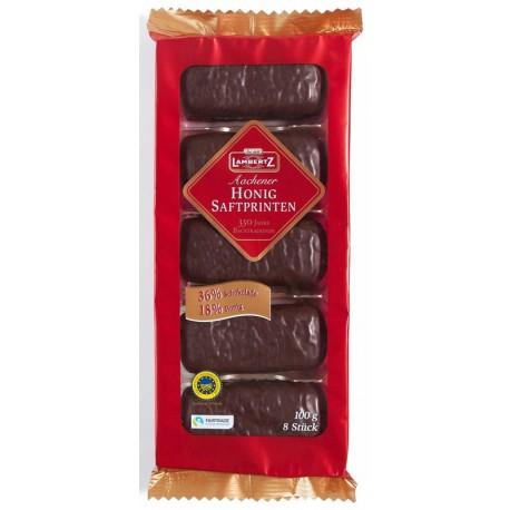 Десерт с Мед и тъмен шоколад Lambertz 100g