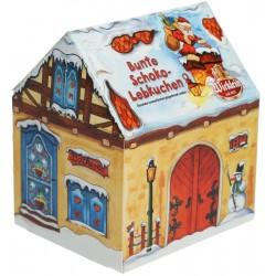 Цветни шоколадови меденки WICKLEIN Къщичка 200g