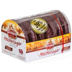 Вафлени меденки с шоколад WICKLEIN 200g