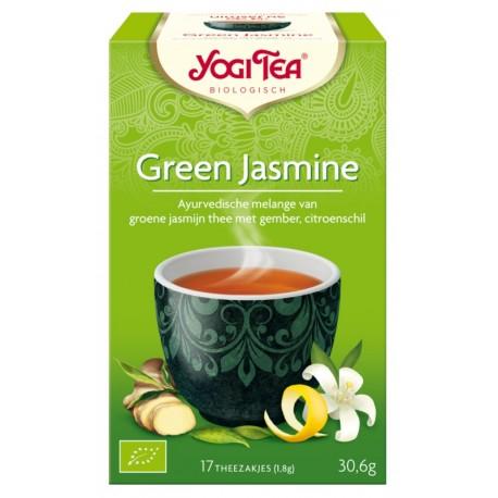 Био чай Зелен жасмин 17х1,8g YOGI TEA