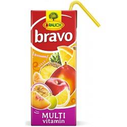 Напитка BRAVO Мултивитамин 50% 200ml