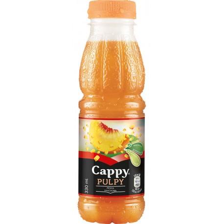 Напитка Cappy Pulpy Праскова 330 ml