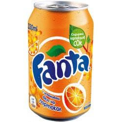 Fanta Портокал кен 330ml