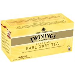 Черен чай TWININGS Earl Grey 25x2g