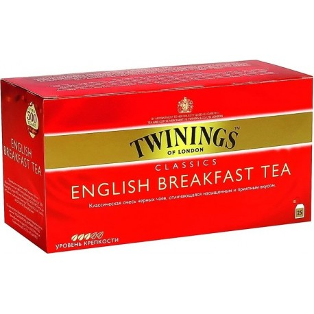 TWININGS English Breakfast 25
