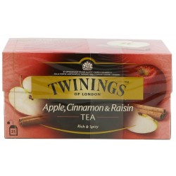 Черен чай Twinings AppleCinnam&Raisin 25