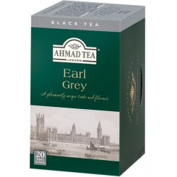 Черен чай AHMAD Ърл Грей 20бр.