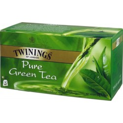 Зелен чай twinings pure green tea 25