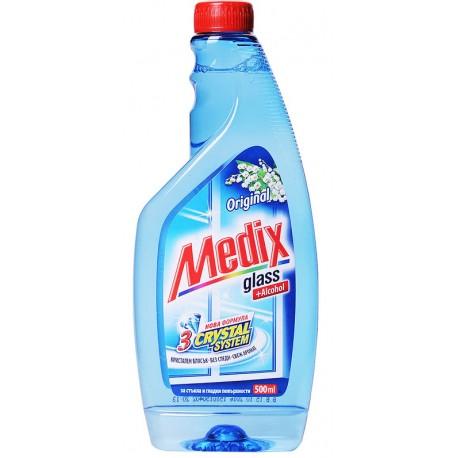 Препарат Medix Original за стъкло 500ml пълнител