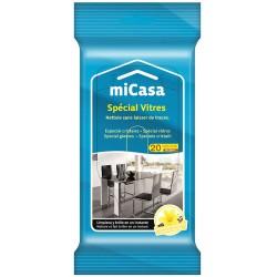 Кърпи Micasa почистващи Стъкло 20бр.