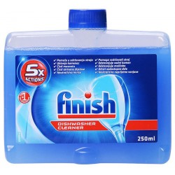 Почистваща течност Finish за съдомиялна машина 250ml