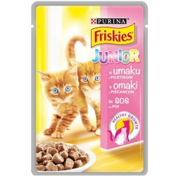 ХРАНА КОТЕ FRISKIES JUNIOR 100g ПИЛЕ/МОРКОВ
